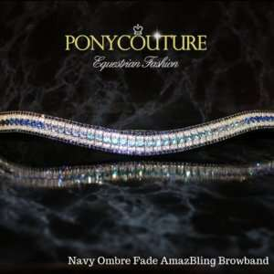 Navy Ombre Browband