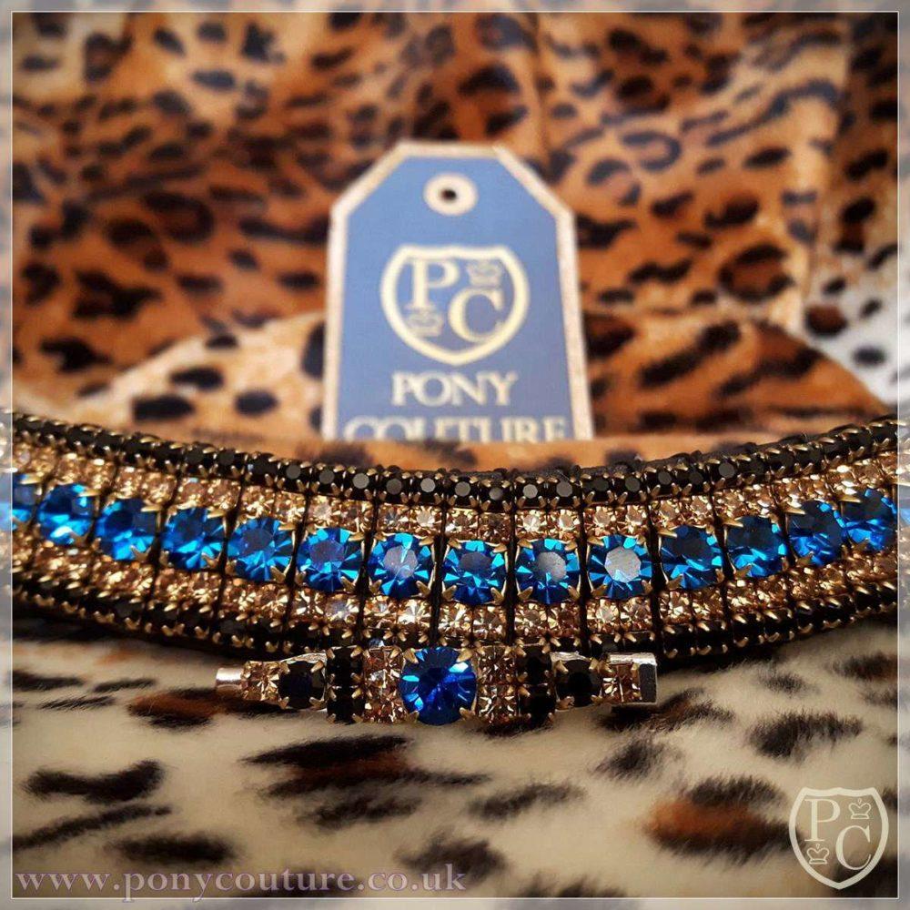 Crystal Amazbling browband - Handmade bling browband