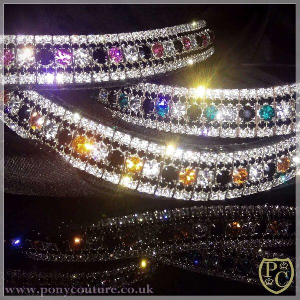 PonyCouture Pro Range crystal browbands