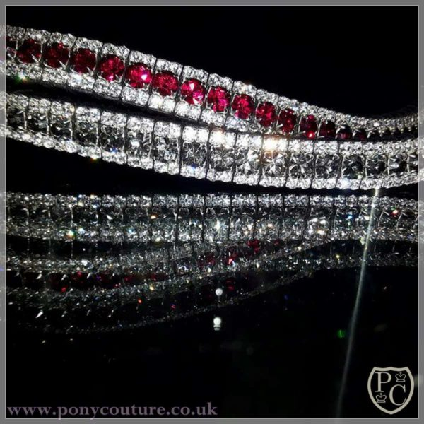 PonyCouture triple crown bling browbands megabling