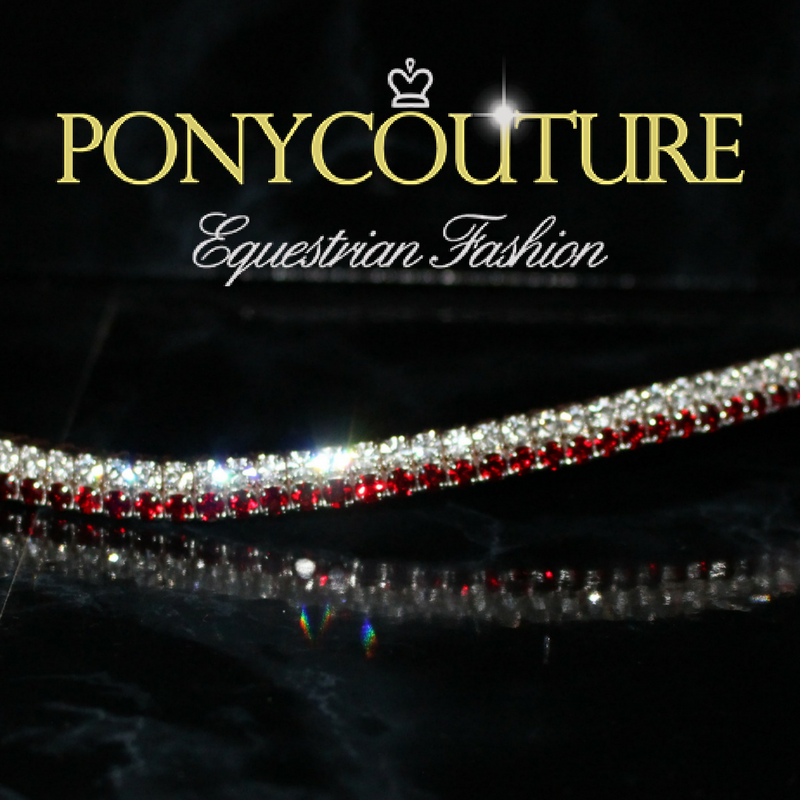 best quality bling browbands from PonyCouture bling browband range these dainty browbands are handmade on Sedgwick English leather and featuring Preciosa crystals