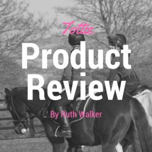 Tottie Product Review by Ruth Walker who is a PonyCouture equestrian blogger and supply handmade crystal browbands and beautiful bespoke bling browbands