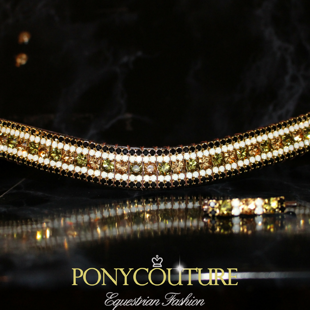 Crystal browbands handmade for pferd, horses and ponies these dressage and dressur style crystal browbands are truly unique and limited edition antique style