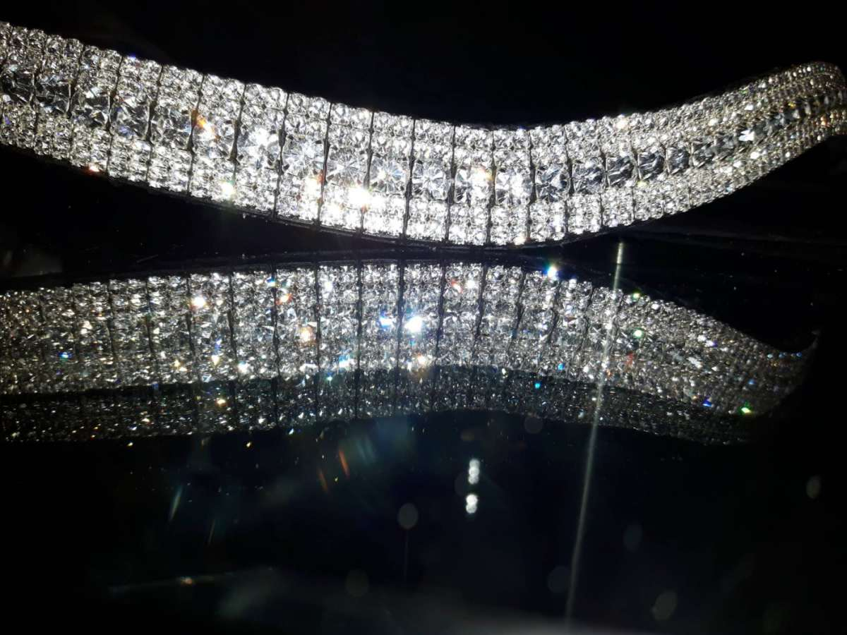Amazbling Clear Crystal Bling Browband