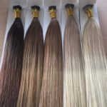 ombre hair extensions prebonded by Rock Locks Hair extensions pre bonded extensions in red hair, blonde hair and brunette with ombre hair extensions too