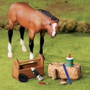 Breyer Foal & grooming kit